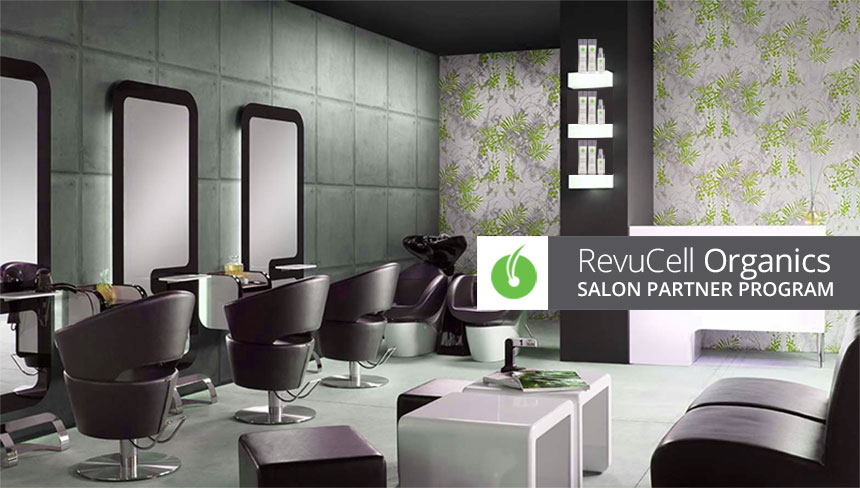 RevuCell Organics Salon Partner Program
