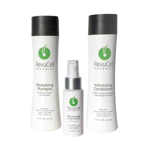 RevuCell Organics Shampoo Conditioner and Serum